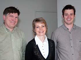 Photo des docteurs généralistes : Dr Taquin, Dr Le Fur et Dr Bourre.